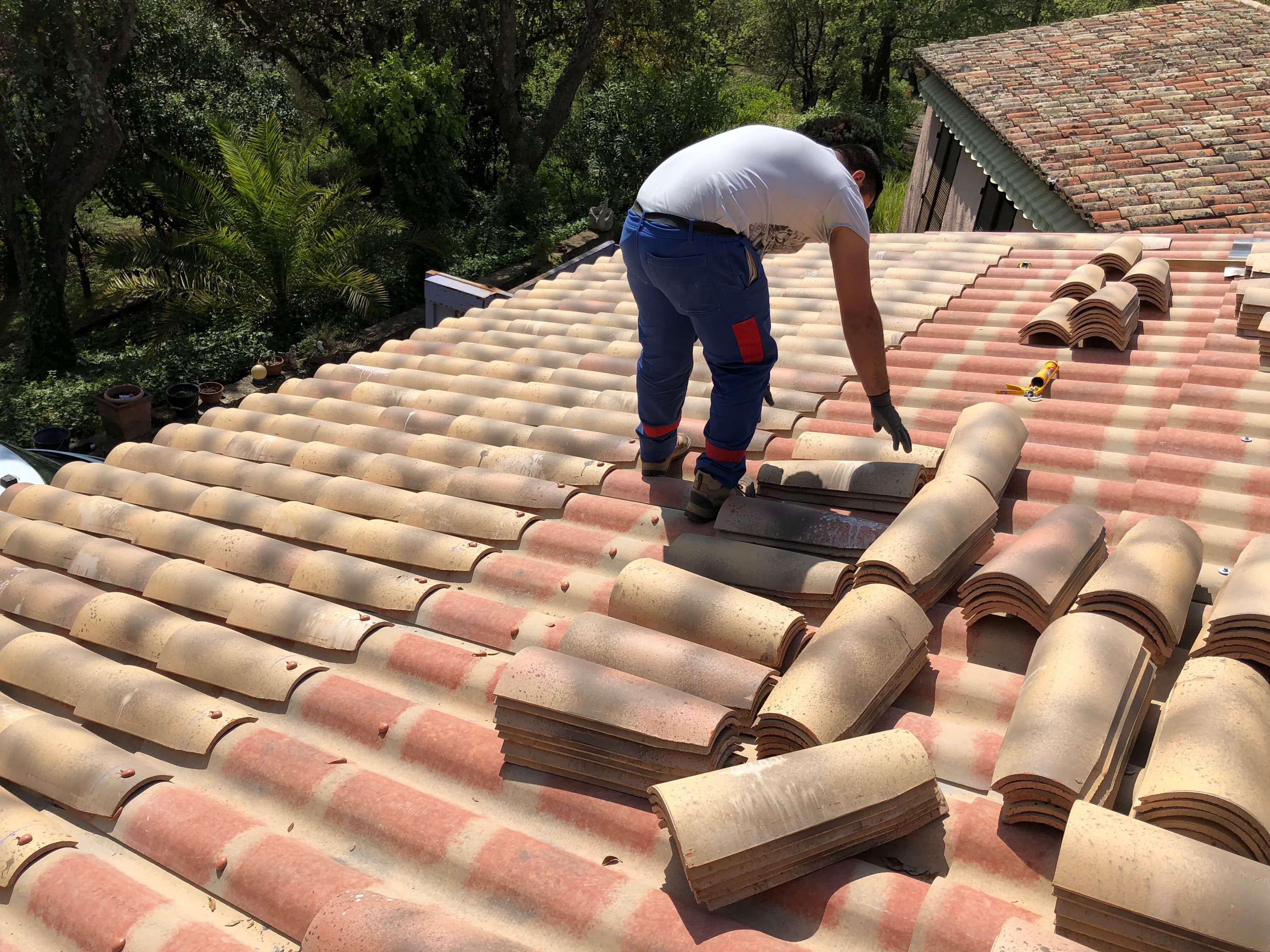 Reparation toiture var